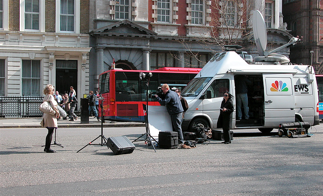 NBC News on Whitehall