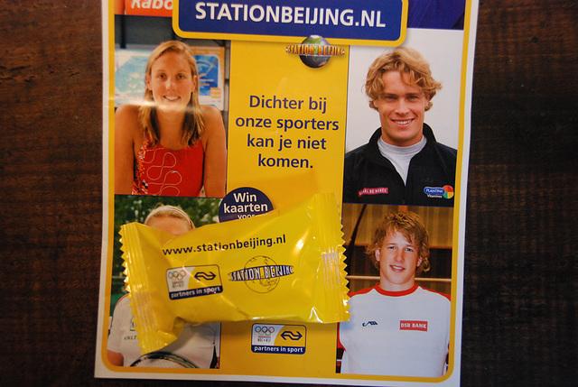 Dutch national railways jumping on the Olympic bandwagon