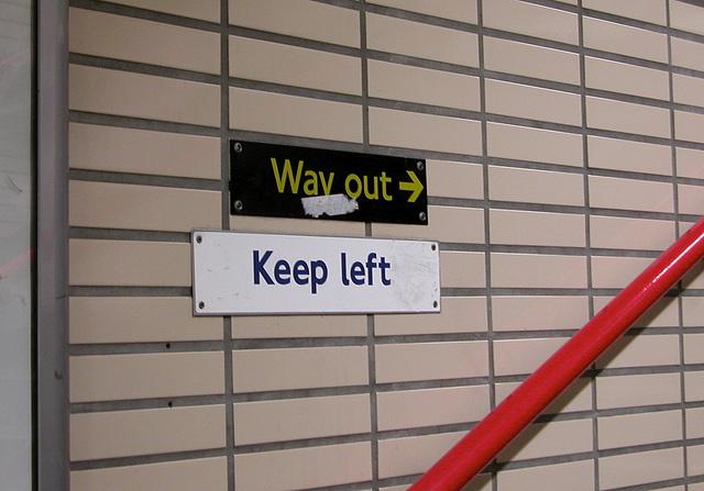Keep left everywhere