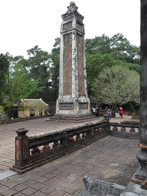 Obelisk by the Stele Pavilion