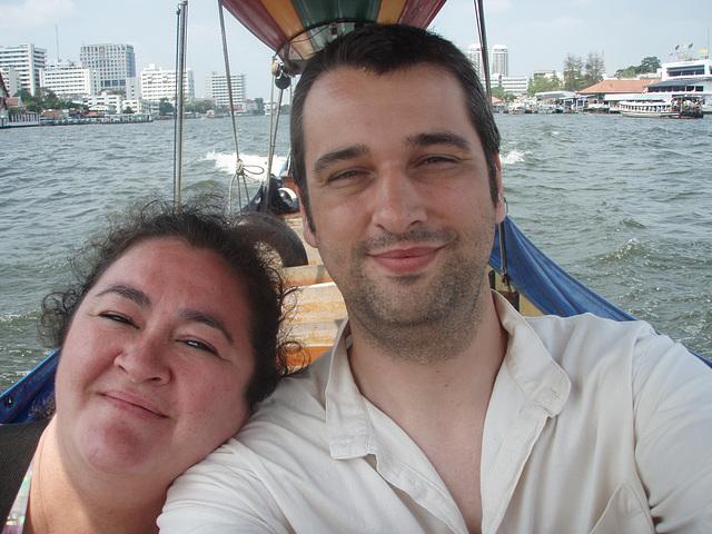 Bangkok - longtail boat trip through canals