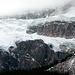 Crowfoot glacier in Banff National Park (Canada)