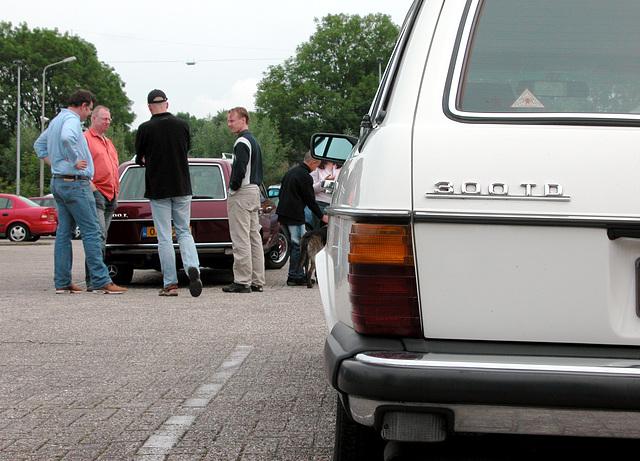 W123 Club meet 'n drive