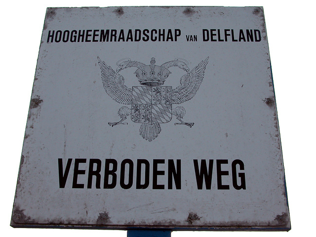 Sign of the Forbidden Road