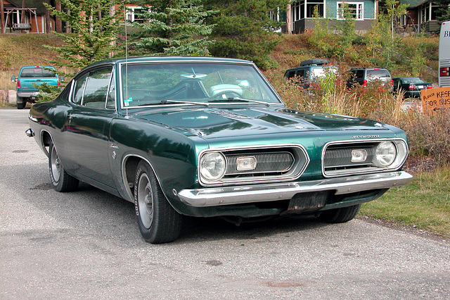 Cars in Canada: 1968 Plymouth Barracuda