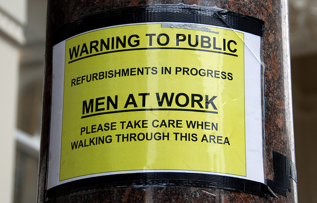 Warning: Men