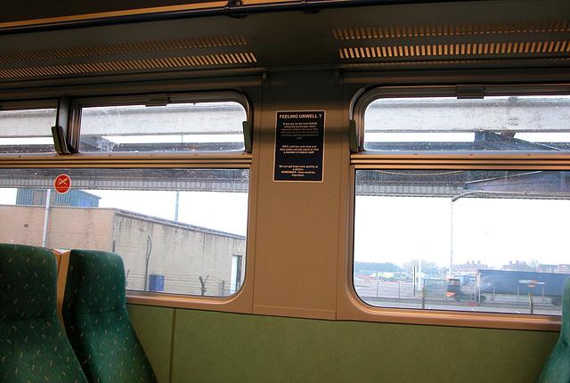 Interior of a One train