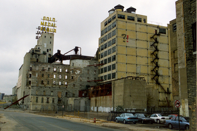 Gold Medal Flour Mill in Minneapolis, Minnesota, USA
