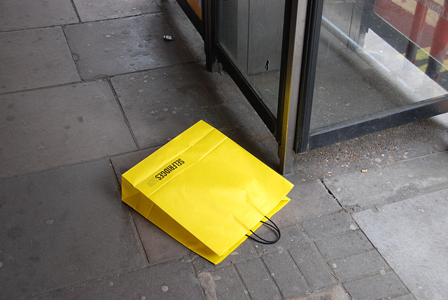 Unwanted Selfridges bag