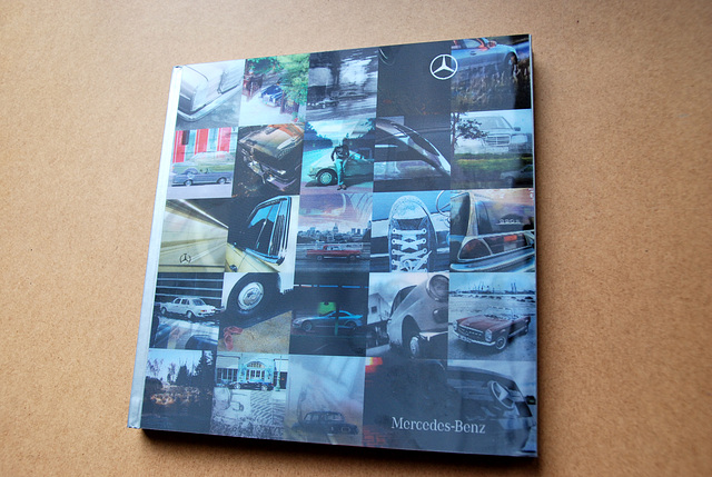 My pictures used in a Mercedes book