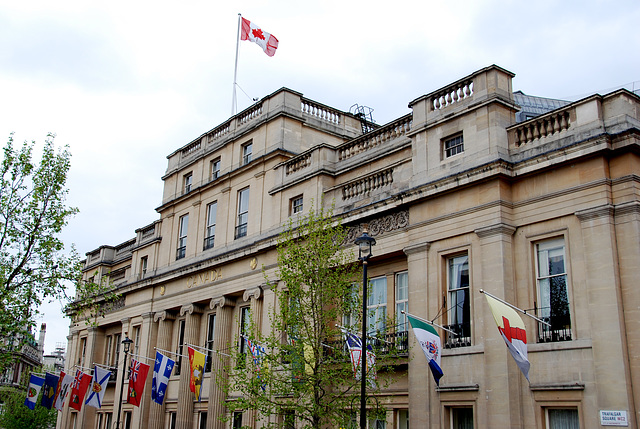 Canada House on Trafalgar Square