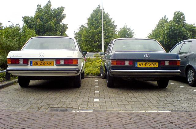 1982 Mercedes-Benz 200D & 1984 Mercedes-Benz 200