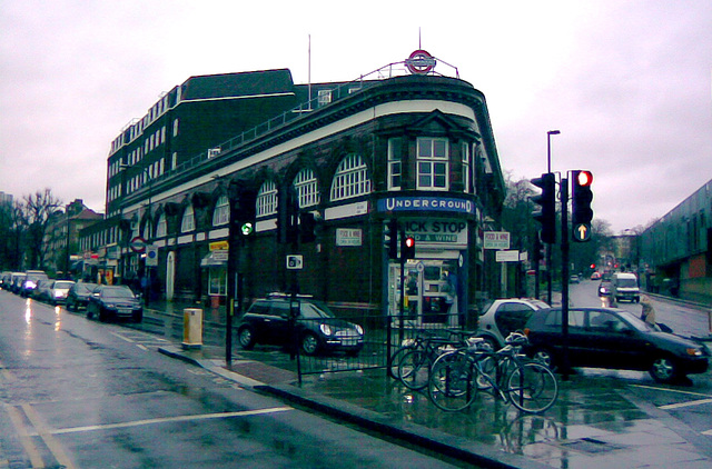 Chalk Farm Underground Station