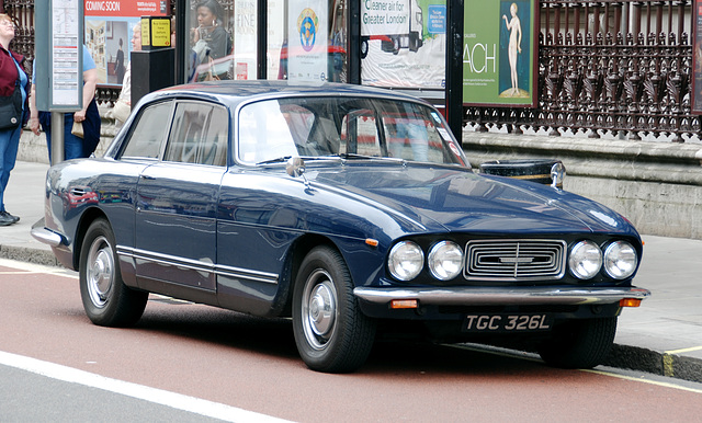 London vehicles: 1973 Bristol 411