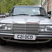 London vehicles: 1985 Mercedes-Benz 230 E