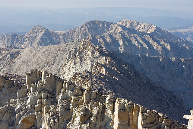 Mt Whitney Summit Situation