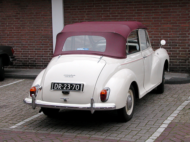 1965 Moris Minor 1000 Convertible
