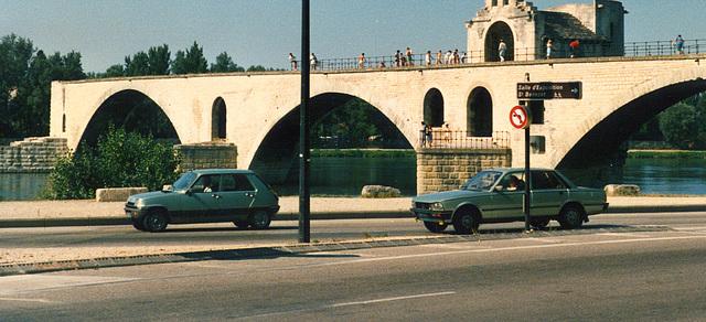 French cars at Avignon