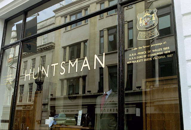 Huntsman tailor of Savile Row