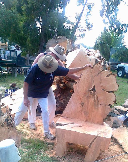 Korumburra Working Horse and Tractor Rally 2011
