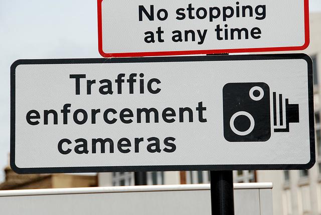 Traffic police still uses analog