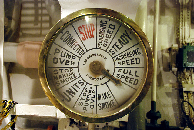 HMS Belfast – Full Speed