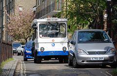 Milkfloat on Highgate Hill
