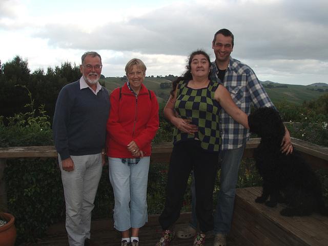 visit from Peter & Trudi Boere