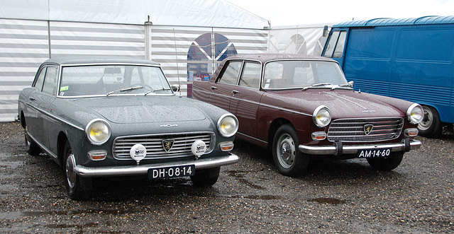 1966 Peugeot 404 C & 1967 Peugeot 404