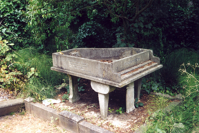 Highgate cemetery: Grave of William Thornton