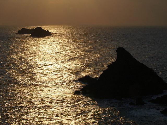 Sunset At Trevose Head
