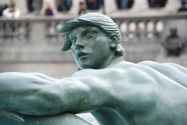 Merman at Trafalgar Square