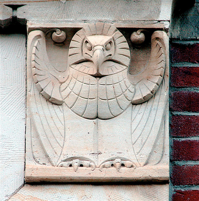 Decorative stone in Amsterdam
