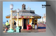 The Beach Hut kiosk - Brighton - 22.2.2014
