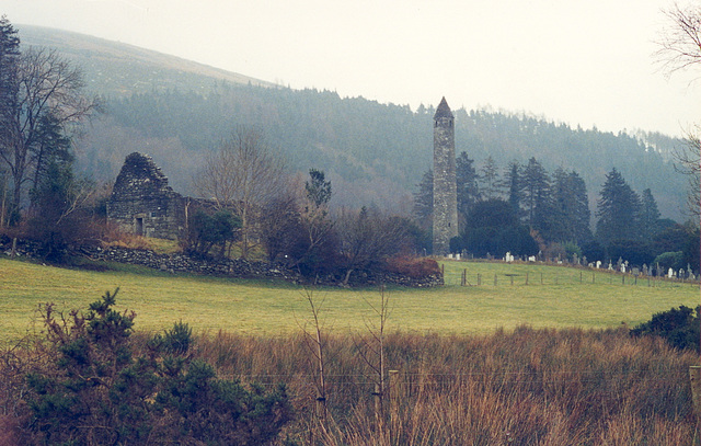 Old pics: Glendalough in Ireland