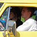 Oldtimer day at Ruinerwold: Behind the wheel of a truck