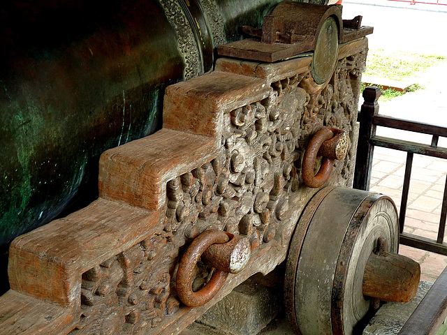 Detail of a Holy Cannon