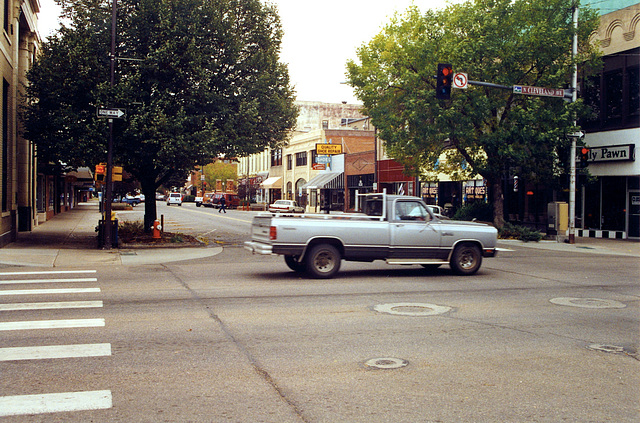 Some old pics from the USA: North Cleveland Ave in Loveland, Colorado