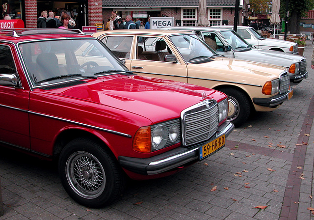 Oldtimer day in Emmen: Mercs