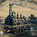 The first Dutch steam locomotive
