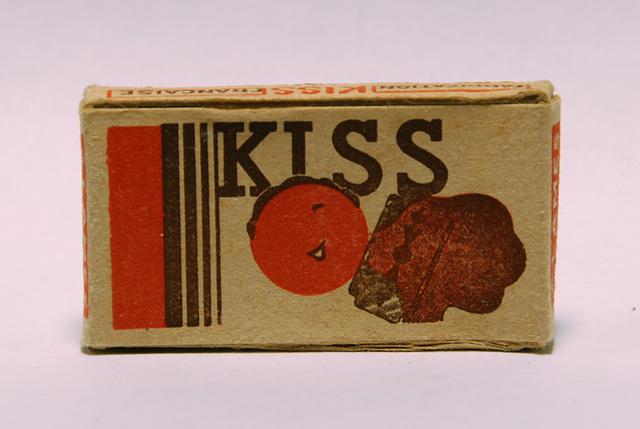 Razor blades: Kiss