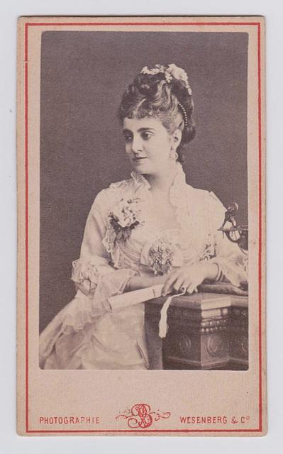 Adelina Patti by Wesenberg