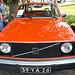Oldtimer day at Ruinerwold: 1975 Volvo 242 DL