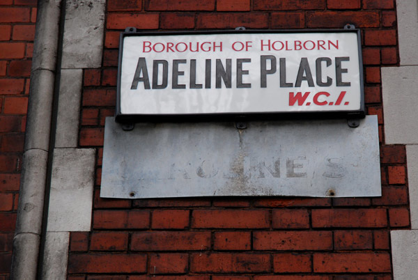 Adeline Place WC1