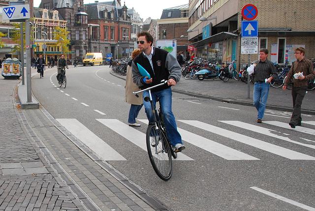 Dutch biker