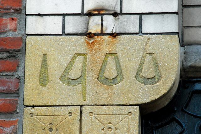 Art Nouveau numbers