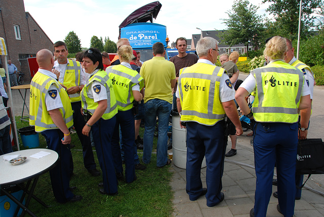 Oldtimer day at Ruinerwold: the coppers
