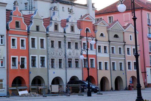 Leginca, main square