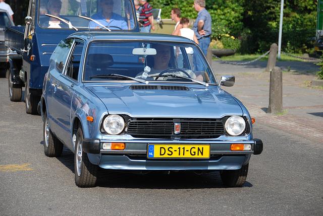 Oldtimer day at Ruinerwold: 1979 Honda Civic 1200