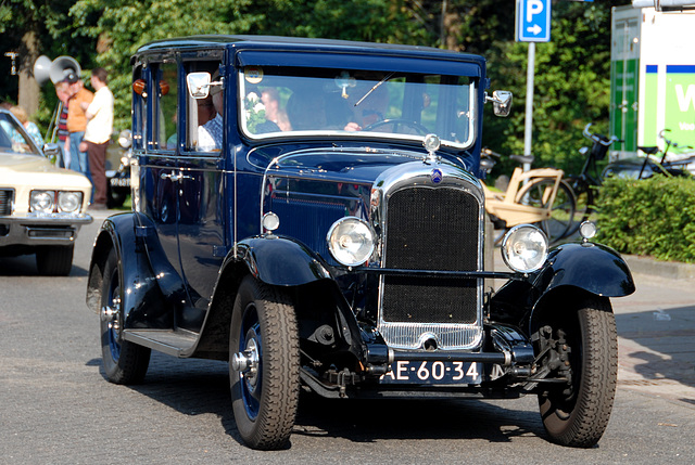 Oldtimer day at Ruinerwold: 1929 Citroën AC4